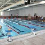 Yüzme Havuzunda İlk Kulacı Başkan Deniz Köken Attı