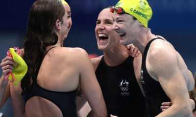 Yüzmede Avustralya'dan Dünya Rekoru