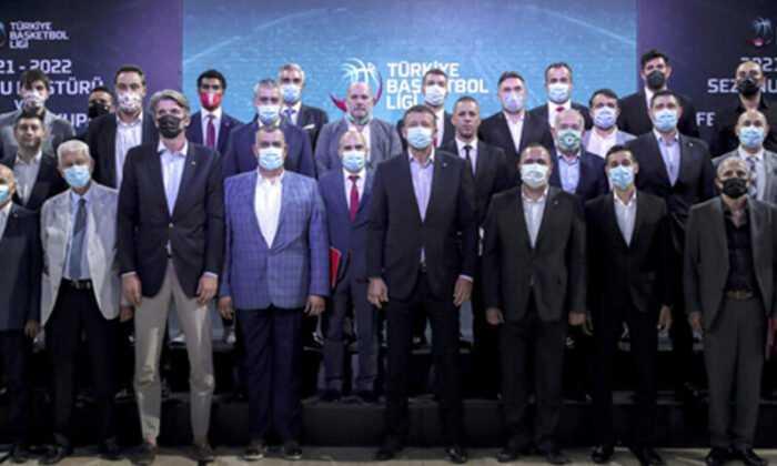 TÜRKİYE BASKETBOL LİGİ'NİN 2021-2022 SEZON FİKSTÜRÜ ÇEKİLDİ
