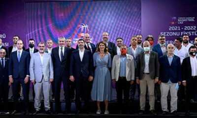 TÜRKİYE KADINLAR BASKETBOL LİGİNDE 2021-2022 SEZON FİKSTÜRÜ ÇEKİLDİ