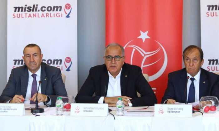 AXA Sigorta Efeler Ligi ve Misli.com Sultanlar Ligi'nde 2021-2022 Voleybol Sezonu Fikstürü Çekildi