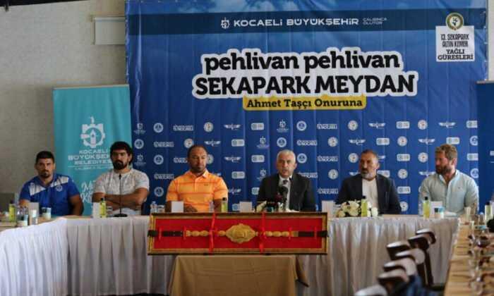 Altın Kemer Yağlı Güreşleri 15 Ağustos'ta Yapılacak