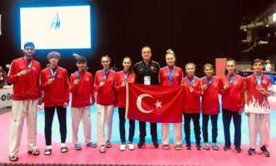 Avrupa Şampiyonasında 10 Madalya Birden
