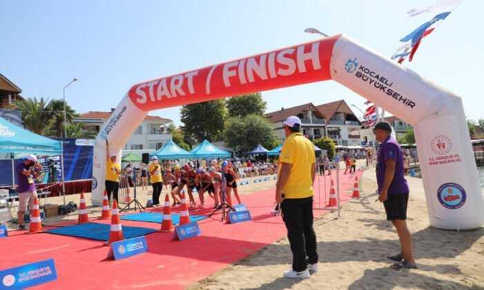 Biathle Triathle Şampiyonası Kocaeli'de Başladı