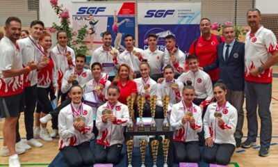 Cimnastik Milli Takımımızdan Slovak Open'da 13 Madalya