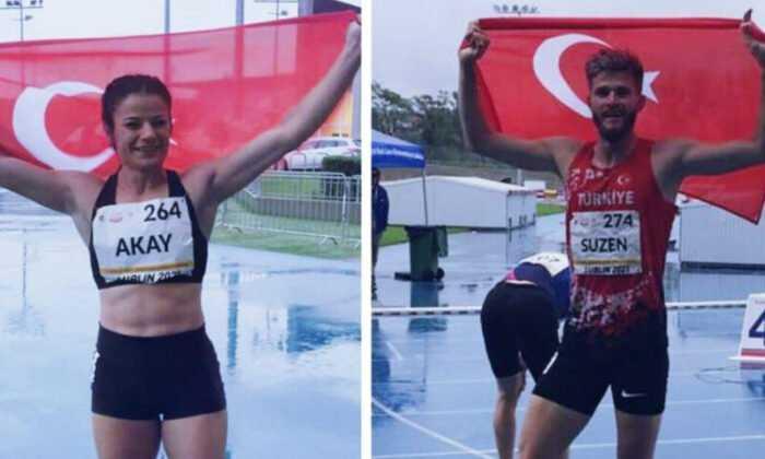 Dünya İşitme Engelliler Atletizm Şampiyonası'nda İki Madalya