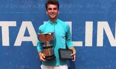 Ergi Kırkın Estonya'da Şampiyon Oldu