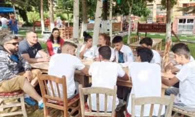 Faruk Budak'tan Milli Sporculara Ziyaret