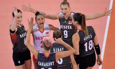 Filenin Sultanları 2021 CEV Kadınlar Avrupa Şampiyonası'na Galibiyetle Başladı