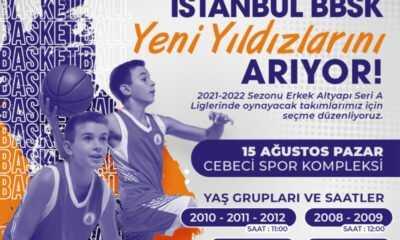 İBB Spor Kulübü Basketbolda Yeni Yıldızlarını Arıyor
