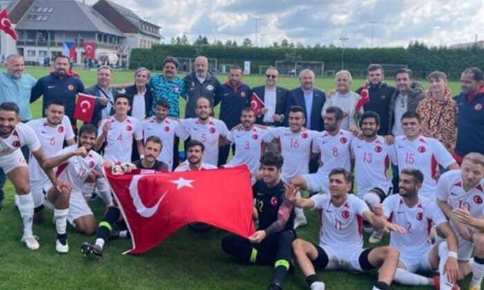 İşitme Engelliler Futbol Milli Takımı, Çekya'yı 6-0 Yendi