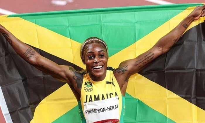 Jamaikalı Atlet Thompson Olimpiyat Rekoru Kırdı