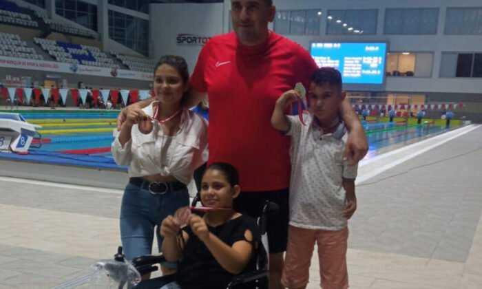 Karaman Paralimpik Yüzme Takımı İlk Gün 3 Madalya Kazandı