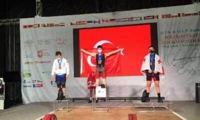 Kerem Kurnaz Avrupa Halter Şampiyonu Oldu
