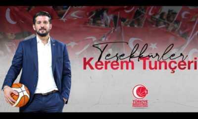 Kerem Tunçeri Basketbol Federasyonu'ndan Ayrıldı