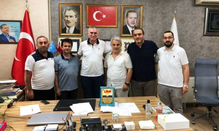 Mücadele Spor Kulüpleri Siyasi Parti Ziyaretlerini Sürdürdü