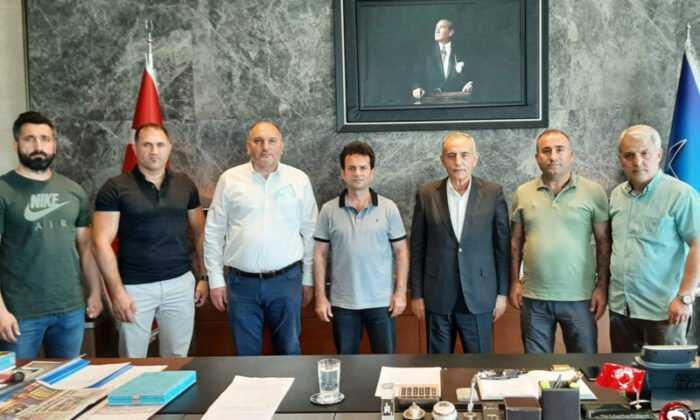 Mücadele Sporları Başkan Çebi'yi Ziyaret Etti