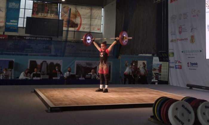 Naime Yaren Baydemir, Rekor Kırarak Avrupa Şampiyonu Oldu