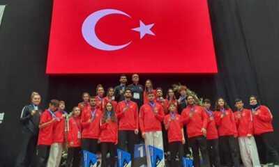 Tekvando Milli Takımımız Avrupa Şampiyonu Oldu