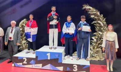 Tekvandocu Görkem Polat Avrupa Şampiyonu