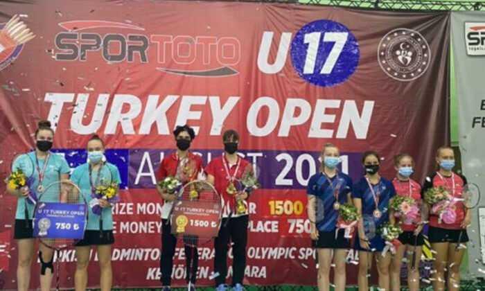 Türk Badminton Milli Takımından 9 Madalya