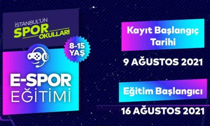 Türkiye'nin İlk Online E-spor Eğitimi Veren Kurumu; Spor İstanbul