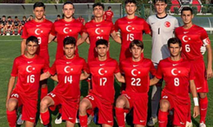 U16 Milli Takımı, Kuzey Makedonya'yı 2-0 Yendi