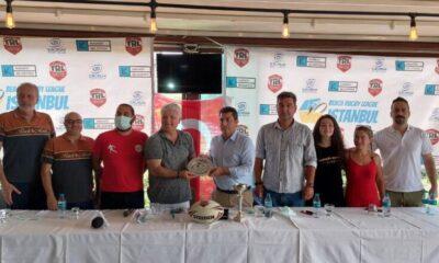 Plaj Ragbi Lig Turnuvası Kalamış Sahilde Yapılacak