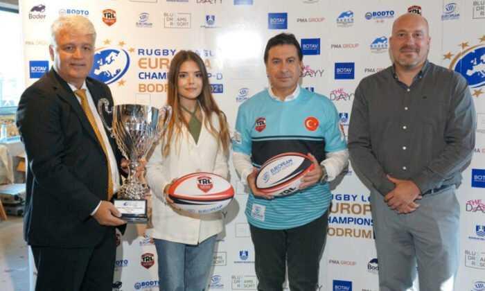 ERL Avrupa Ragbi Lig Federasyonu şampiyonluk maçları Bodrum'da