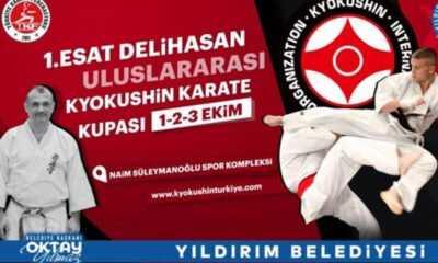 1. Esat Delihasan Uluslararası Kyokushin Karate Kupası Ekim'de