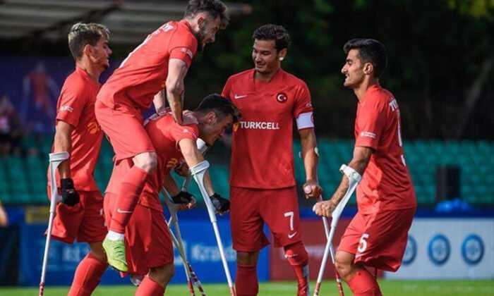 Ampute Futbol Milli Takımı, Avrupa Şampiyonası'nda Yarı Finale Yükseldi