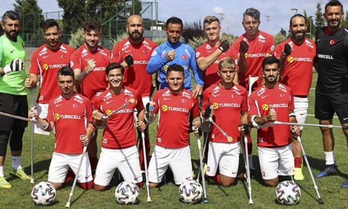 Ampute Milli Futbol Takımı, Avrupa Şampiyonası'ndaki İlk Maçına Çıkıyor