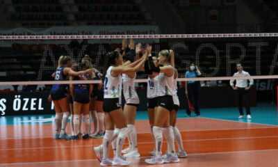 Aydın Büyükşehir Belediyespor, Sarıyer Belediyespor'u 3-1 Yendi