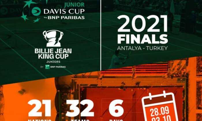 BNP Paribas Jr Davis Cup-Jr Billie Jean King Cup Finalleri Antalya'da Başlıyor