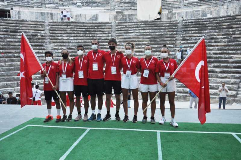 BNP Paribas Jr Davis Cup Jr Billie Jean King Cup Finallerinin Acilisi Aspendosta Gerceklesti 2