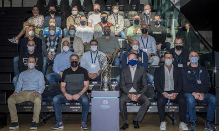 Basketbol Şampiyonlar Ligi'nde Yıllık Başantrenörler Toplantısı Gerçekleşti