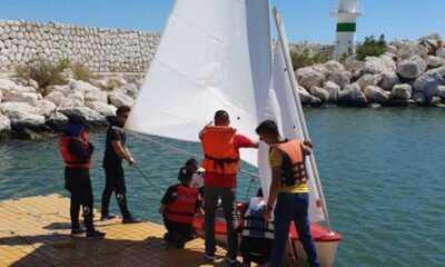 Bedensel Engelliler Türkiye Yelken Şampiyonası Mersin'de Başladı