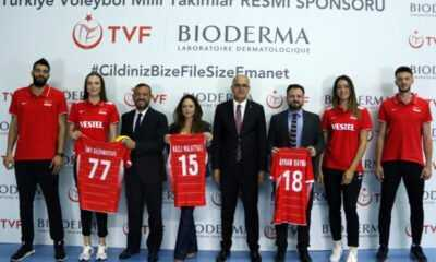 Bioderma Türkiye Voleybol Federasyonu Resmi Sponsoru Oldu