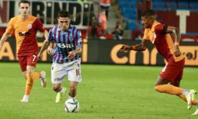 Galatasaray ile Trabzonspor Berabere Kaldı