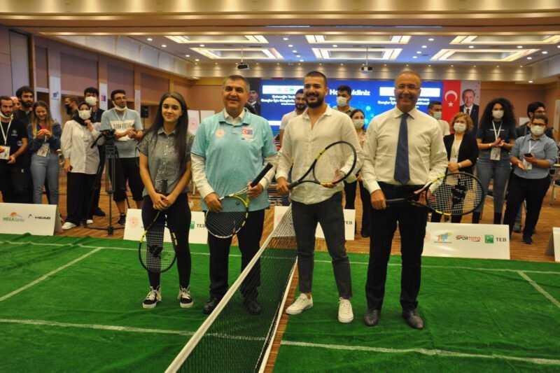 Gelecegin Tenis Sporunu Gencler Icin Genclerle Sekillendiriyoruz Projesinin Zirve Toplantisi Gerceklesti 1
