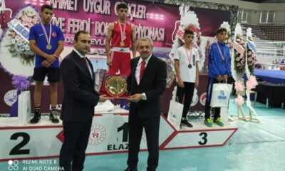 Genç Erkekler ve Genç Kadınlar Türkiye Ferdi Boks Şampiyonası Sona Erdi