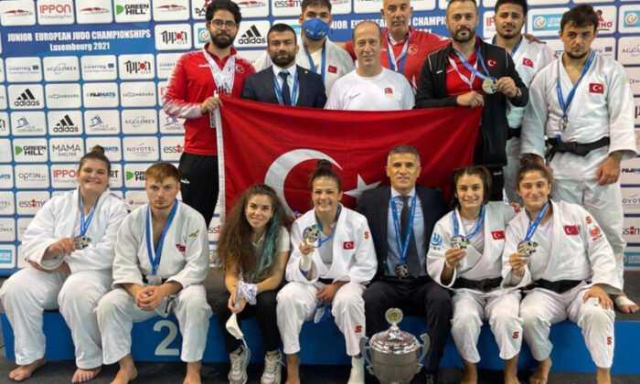 Gençler Karma Judo Takımımız Avrupa İkincisi Oldu