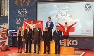 Gençler ve 23 Yaş Altı Avrupa Halter Şampiyonası'nda Millilerden 5 Madalya Daha