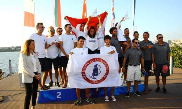 HSSK / Quick Sigorta Takımı ORC Sportboat Avrupa Şampiyonu Oldu