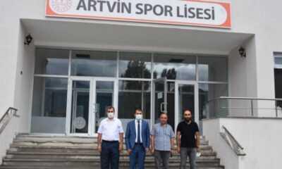 İl Müdürü Acar Spor Lisesi Açılış Hazırlıklarını Yerinde İnceledi