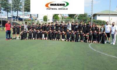 """MASKO Futbol Okulu'nda """"Geleceğin Yıldızları"""" Yetiştiriliyor"""