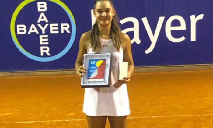 Melisa Ercan İtalya'da Şampiyon