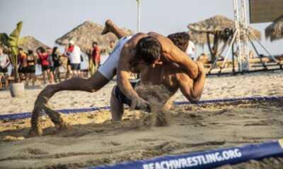 Milli Takım Plaj Güreşinde 5 Madalya Kazandı