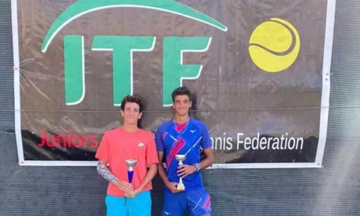 Milli tenisçiler Deniz Gürsoy ve Toprak Avcıbaşı, Bakü'de Şampiyon Oldu