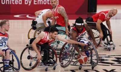 Milliler Erkekler Tekerlekli Sandalye Basketbolda ABD'ye Kaybetti